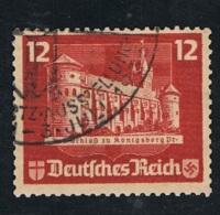 1935 23. Juni Int. Briefmarkenausstellung Mi DR 578 Sn DE B68c Yt DR 537 Sg DR 575 Gestempelt - Deutschland