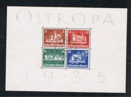 1935 23. Juni Osteuropäische Briefmarkenausstellung Mi DR BL3 Sn DE B68 Yt DR BF3 Sg DR MS576 Gestempelt - Blocks & Kleinbögen