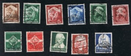 1935 Jahrgang Mi DR 565 - 602 Sn DE 448 - B81 Yt DR 524 - 561 Sg DR 562 - 599 Ohne Mi 576 - 579 S. Scan! - Germania