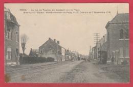 Pecq - La Rue De Tournai En Montant Vers La Place ( Voir Verso ) - Pecq