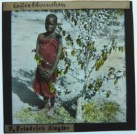 MISSIONNAIRE EN AFRIQUE ÉQUATORIALE - Plaques De Verre