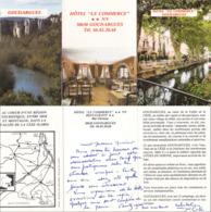 Goudargues - Hôtel Du Commerce -Triptyque - Gard - Dépliants Touristiques