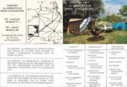 Goudargues - Camping La Grenouille - Gard - Dépliants Touristiques