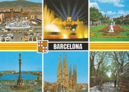 Postcard - Barcelona - 6 Views - Posted 19-05-2001 - VG - Sin Clasificación