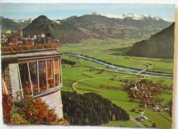 Blick Von Der Kanzelkehre Auf Wiesing, Inntal Autobahn Usw. (65455) - Österreich
