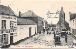 Pecq NA23: Le Marché 1907 - Pecq
