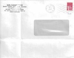 TP N° 3096 Seul  Sur Enveloppe De Caen - 1961-....