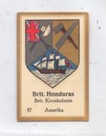 BELIZE / BRITISH HONDURAS - Staatswappen, Abdulla Sammelbild / Cinderella - Belice