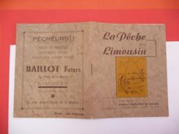 La  Pêche En LIMOUSIN ( Limoges - Chasse/Pêche