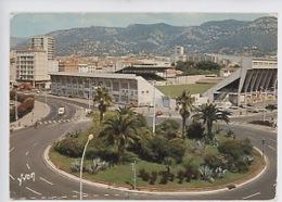 Toulon : Rond-point Bonaparte Et Stade Mayol (foot)  Cp N° 10/1350 - Toulon