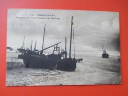 BERCK PLAGE - Bateaux De Peche échoues Sur La Plage - Voyagée En 1922 - Berck