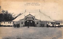Thème:     Cirque.     Chapiteau Du Cirque Ancillotti      (Voir Scan) - Circo