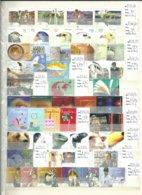 PORTUGAL : Timbres Et Blocs Neufs ** Période 2001 - 2003, Cote De 417 €, Faciale De 145 €. - Collezioni (in Album)