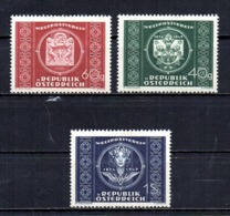 Austria 1949 75 Years UPU Mint Mnh Tu - 1945-60 Nuovi & Linguelle
