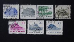 China - 1962 - Mi:CN 675,676,678-82 O - Look Scan - Usados