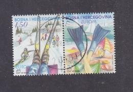 Bosnia And Herzegovina Croatian (Mostar) 2004 Europa CEPT - Holidays Used - 2004