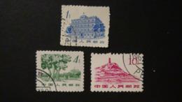 China - 1962 - Mi:CN 675,678,680 O - Look Scan - 1949 - ... République Populaire