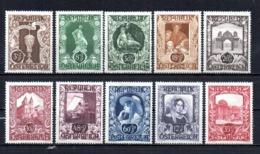 Austria 1947 Art Exposition Mint Mnh Tu - 1945-60 Unused Stamps
