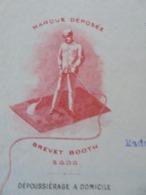 FACTURE - PARIS 8ème, 1919 - STE FRANCAISE DU VACUUM CLEANER - DECO - Francia