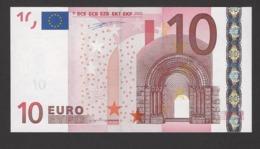 10 Euro 2002 X10179505235, Printer R005 Duisenberg, Kassenfrisch,  UNC - EURO