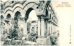 PALERMO - Chiesa Di S. Giovanni Degli Eremiti. Il Chiostro - Palermo