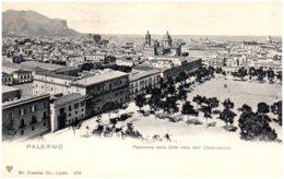 PALERMO - Panorama Della Citta Visto Dall' Oservatorio - Palermo