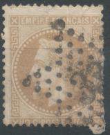 Lot N°51193  N°28B, Oblit étoile Chiffrée 33 De PARIS (Gare D'Orléans) - 1863-1870 Napoléon III Lauré