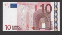 10 Euro 2002 X39635353352, Printer P015 Trichet, Kassenfrisch,  UNC - 10 Euro