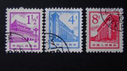 China - 1964/65 - Mi:CN 847,850,852 O - Look Scan - 1949 - ... Volksrepublik