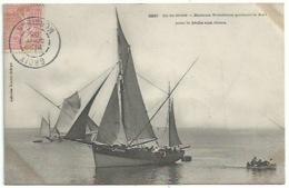 56 Ile De Groix - Bateau Grésillon Quittant Le Port Pour La Pèche Aux Thons - Sonstige Gemeinden