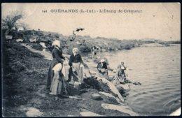 Guérande L'étang De Crémeur  Lavandières   27 07 1905  état V. Explications - Guérande