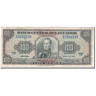 Billet, Équateur, 100 Sucres, 1980-02-01, KM:112a, TB - Ecuador