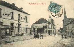 /!\ 7144 - CPA/CPSM 60 - Baron : La Mairie - Francia