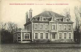 /!\ 7589 - CPA/CPSM 62 - Beaumerie Saint Martin : Chateau De Beaurepaire - Francia