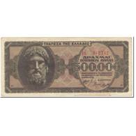 Billet, Grèce, 500,000 Drachmai, 1944, 1944-03-20, KM:126a, TB - Griechenland