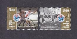 "Bosnia And Herzegovina Croatian (Mostar) 2005 100 Years Of ""HSK Zrinjski"" Used - Beroemde Teams"
