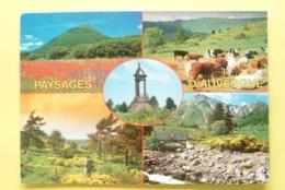 V10-63-puy De Dôme- Auvergne-le Puy De Dome--monument Vercingetorix- Plateau De Gergovie- Le Sancy-- - France