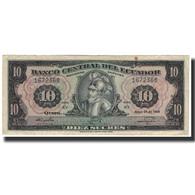 Billet, Équateur, 10 Sucres, 1968-05-24, KM:114a, TB - Ecuador