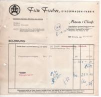 Mitwitz In Oberfranken - Rechnung Kinderwagenfabrik Fritz Fischer - Deutschland