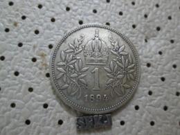 AUSTRIA  1 Corona 1894  4.96 G - Austria