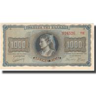 Billet, Grèce, 1000 Drachmai, 1942, 1942-08-21, KM:118a, SPL - Griechenland