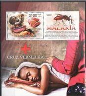 Guinee Bissau  2012 Nobel Red Cross Croix Rouge Malaria  MNH - Nobel Prize Laureates