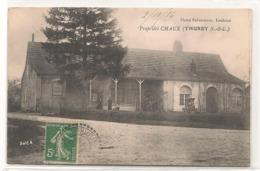 Thurey - Proprieté Chaux  -  CPA° - Frankreich