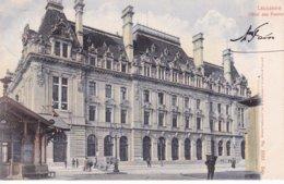 L100E_216 - Lausanne - Hôtel Des Postes - Carte Précurseur N° 5595 - VD Waadt