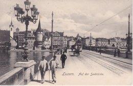 L100E_231 - Luzern - Auf Der Seebrücke - LU Lucerne