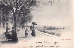 L100E_232 - Neuchâtel - Quai Osterwald N°1806 - Carte Précurseur - NE Neuchatel