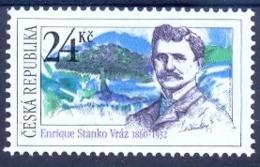 CZ 2010-626  Traveller Enrique Stanko Vráz, CZECH REPUBLIK,  1 X 1v. MNH - 2011