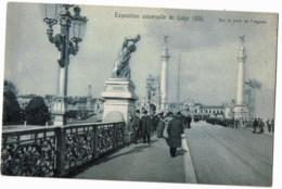 Liége Exposition Universelle De   1905  Sur Le Pont De Fragnée - Luik