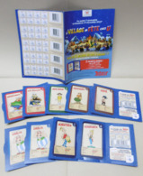 9 Pochettes (cartes + Points) LE VILLAGE EN FETE Chez U (Astérix, Obélix) + 1 Flyer Collecteur - Autres Jeux De Cartes