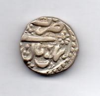 INDE - BHOPAL, 1 Rupee, Silver, AH 1278, Year 2, KM #10 - Inde